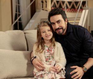 """A novela """"Carinha de Anjo"""", que termina nesta quarta-feira (06), recebeu convidados especiais como o padre Fábio de Melo"""