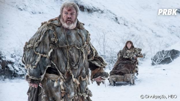 """Hodor (Kristian Nairn) também não volta nesta temporada para """"Game of Thrones"""""""