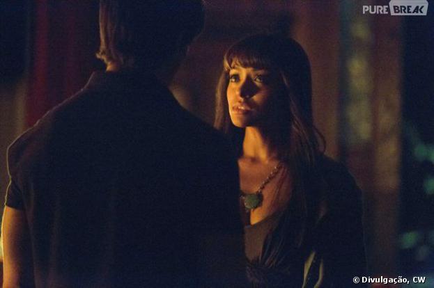 "Bonnie (Kat Graham) e Jeremy (Steven R. McQueen) podem ter uma segunda chance em ""The Vampire Diaries""!"