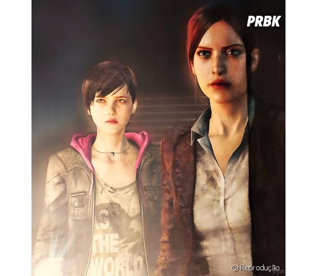 """Em """"Resident Evil: Revelations 2"""" Claire e Moira serão as novas protagonistas"""