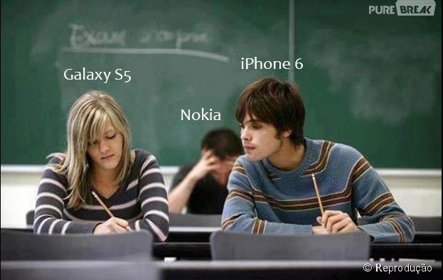 Agora as coisas se inverteram e parece que a Apple resolveu copiar a Samsung... será?