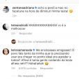 Larissa Manoela brincou com as mensagem uqe recebeu de haters