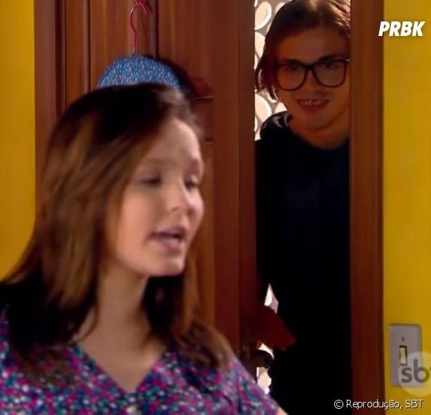 "Vinicius (Vincenzo Richy) e Mirela (Larissa Manoela) juntos? Alerta de novo casal em ""As Aventuras de Poliana"""