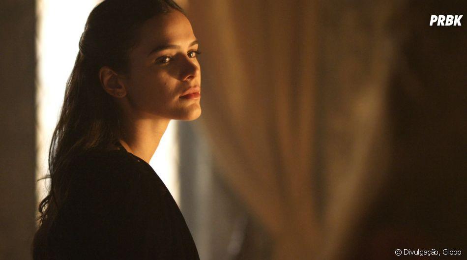 """No final de """"Deus Salve o Rei"""", Catarina (Bruna Marquezine) fugirá da prisão, mas acabará atrás das grades de novo"""