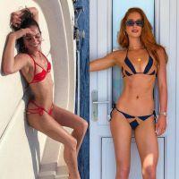 Bruna Marquezine ou Marina Ruy Barbosa, quem está arrasando mais nas férias na Grécia?