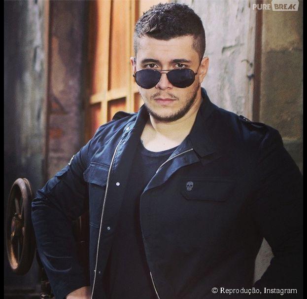 Bruno Boncini é vocalista da Banda Malta há um ano. A banda teve início em setembro de 2013.