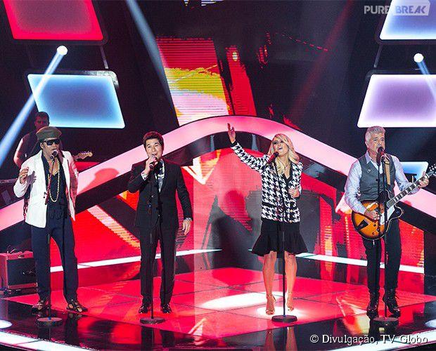 """A música """"Toda Forma de Amor"""" foi a escolhida para ser cantada pelos técnicos na reestreia do """"The Voice Brasil"""""""