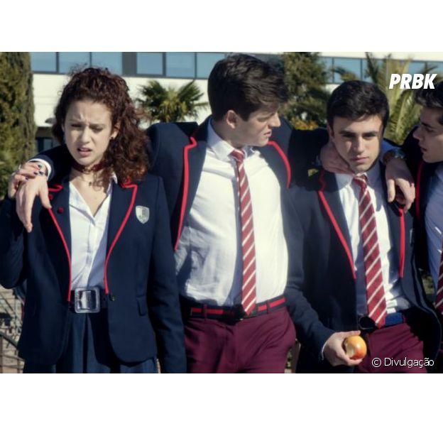 """""""Elite"""", série espanhola da Netflix, com atores de La Casa de Papel esteria dia 5 de outubro"""