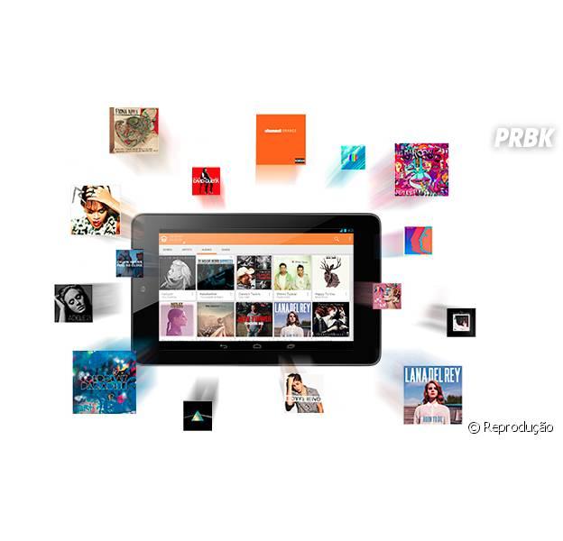 Google Play Music chega ao Brasil