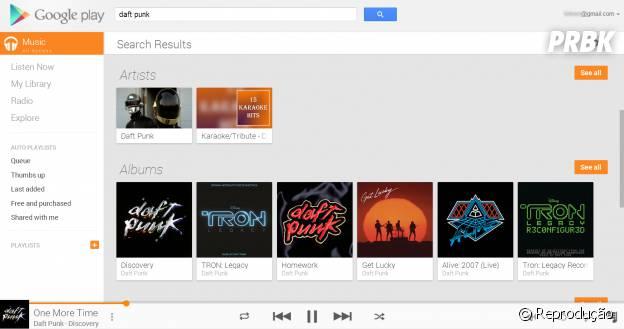 Apenas os clientes Samsung poderão ter acesso ao Google Play Music
