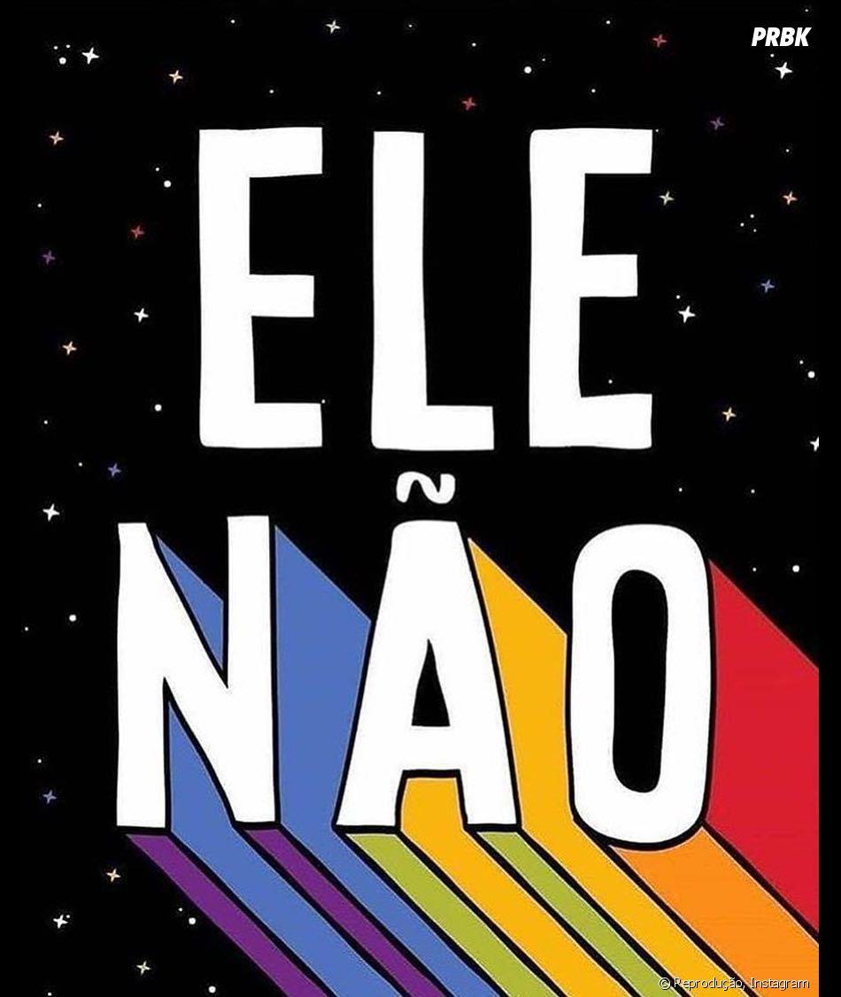 Campanha #EleNão ganha apoio de famosas nas redes sociais