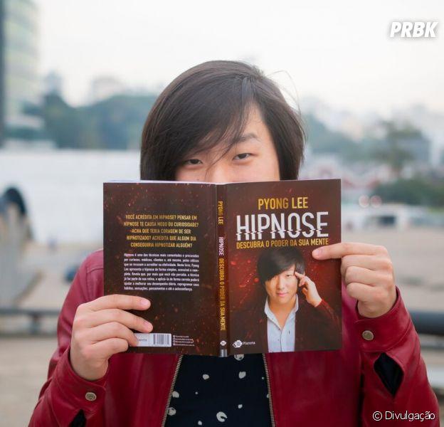Pyong Lee lançou seu primeiro livro sobre hipnose e vai promover uma tarde de autógrafos em São Paulo