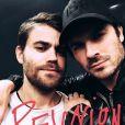 """Paul Wesley e Ian Somerhalder relembram """"The Vampire Diaries"""" com muito carinho"""