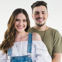 """Juliana Paiva grava clipe com Pedro Thomé para a música """"Não Desiste de Mim"""""""