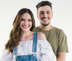 Juliana Paiva grava clipe com o músico Pedro Thomé