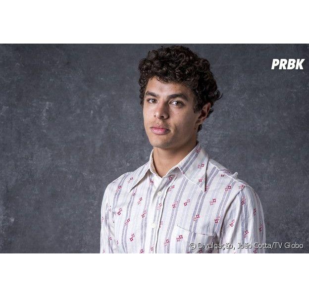 """Novela """"O Sétimo Guardião"""": Matheus Abreu seráMaltoni, um rapaz religioso que não gosta de usar cueca"""