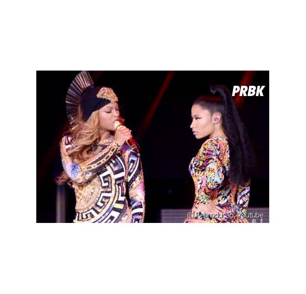 """Nicki Minaj e Beyoncé derrubam todos os forninhos com o clipe de """"Flawless"""""""