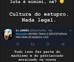 """Kéfera sofreu ameaças de estupro após participação no """"Encontro com Fátima Bernardes"""""""