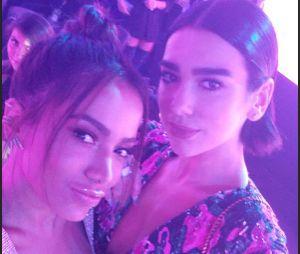 Anitta e Dua Lipa andaram conversando e fãs apostam em parceria