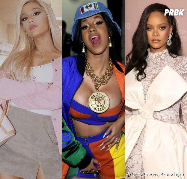 Ariana Grande, Cardi B, Rihanna e mais artistas que lançarão álbum em 2019