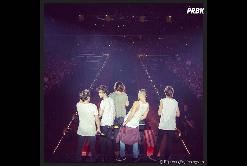4b2c0b3e04 Os garotos do One Direction encerraram sua turnê mundial no último final de  semana