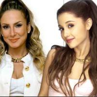 "Claudia Leitte copia visual de Ariana Grande no programa ""The Voice Brasil"""