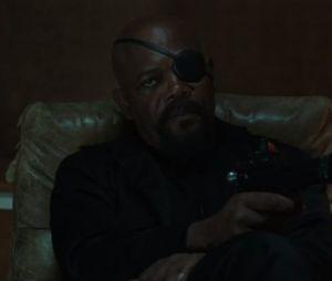 """Nick Fury (Samuel L Jackson) chama Peter Parker (Tom Holland) para uma missão no trailer de """"Homem-Aranha: Longe de Casa"""""""