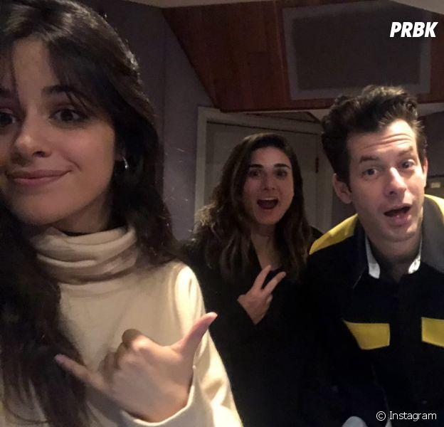 Parece que Camila Cabello está trabalhando com Mark Ronson e nós estamos muito empolgados para ouvir essa música