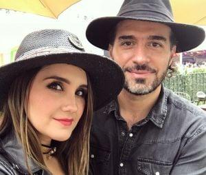 Dulce Maria e Paco Álvarez estão noivos