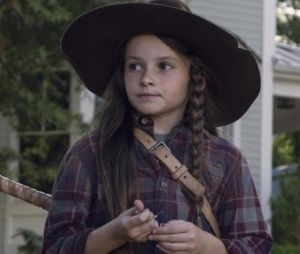 "Em ""The Walking Dead"", na 9ª temporada: Judith (Cailey Fleming) rouba a cena durante retorno da série"