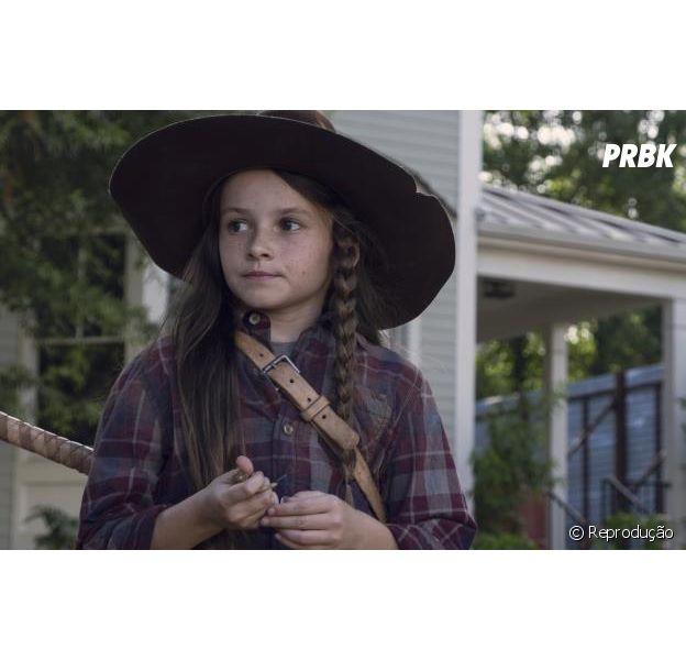 """Em """"The Walking Dead"""", na 9ª temporada:Judith (Cailey Fleming) rouba a cena durante retorno da série"""