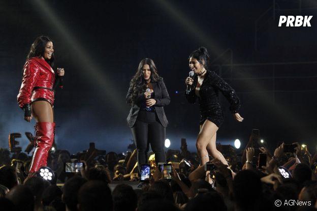 Ludmilla grava DVD no Rio de Janeiro: Simone e Simaria fizeram a festa!