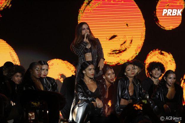 Ludmilla grava DVD no Rio de Janeiro: participação de Anitta era o momento mais esperado