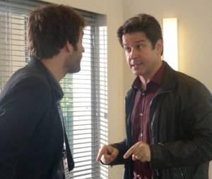 """Em """"Geração Brasil"""", da Globo, Jonas (Murilo Benício) descobre que é o pai biológico de Davi (Humberto Carrão)"""