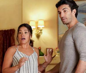 "Em ""Jane the Virgin"", volta de Michael (Brett Dier) vai abalar a vida de Jane (Gina Rodriguez) e Rafael (Justin Baldoni)"