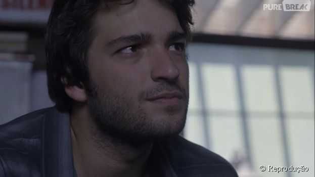 """Em """"Geração Brasil"""", Davi (Humberto Carrão) se revolta ao saber a verdade sobre sua vida"""