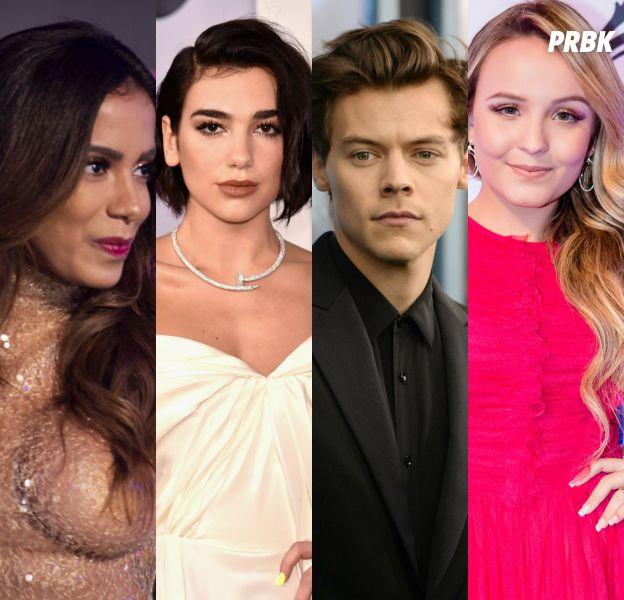Anitta, Dua Lipa, Harry Styles, Larissa Manoela e outros: veja os 10 rolês mais aletórios dos famosos