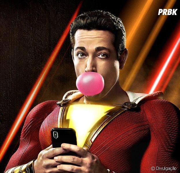 """""""Shazam!"""" é a produção perfeita para assistir em família"""