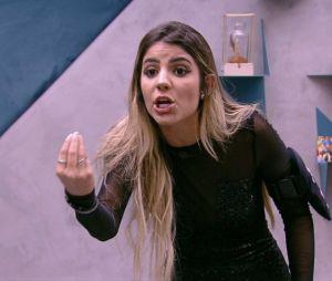 """No """"BBB19"""": Hariany pode ser expulsa do reality após briga com Paula"""