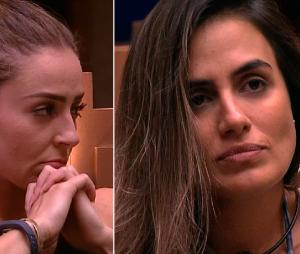"""""""BBB19"""": após expulsão de Hariany, Paredão entre Paula e Carol Peixinho segue normalmente"""