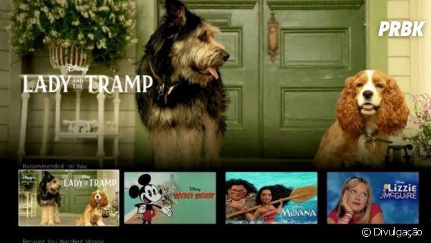 "O Disney+ vai disponibilizar o live-action de ""A Dama e o Vagabundo""!"