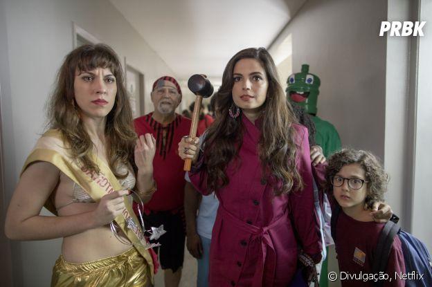 """""""Samantha!"""", na 2ª temporada: Emanuelle Araújo diz que Samantha começará a se questionar mais"""
