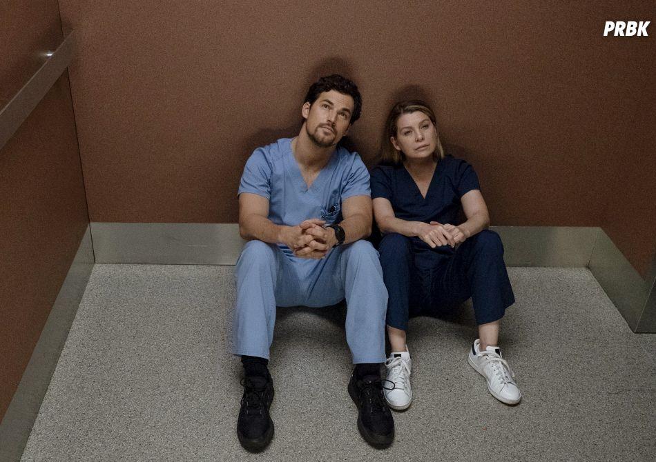 """O relacionamento de Meredith (Ellen Pompeo) e DeLuca ( Giacomo Gianniotti) vai ficar bem mais sério em """"Grey's Anatomy"""""""