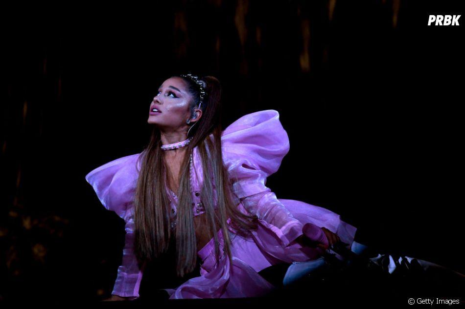 Ariana Grandefoi processada por postar uma foto de paparazzi nas suas redes sociais