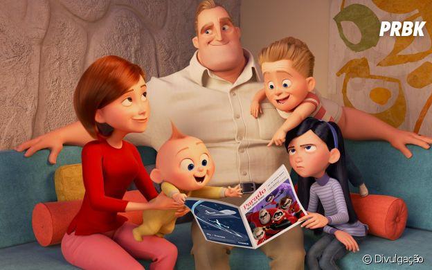 """""""Os Incríveis"""" marcou e marca época dentre as produções da Disney"""