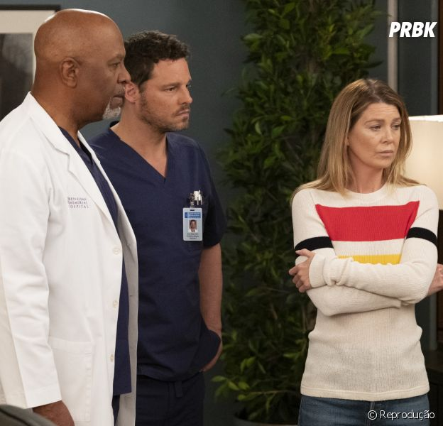 "Em ""Grey's Anatomy"": Meredith (Ellen Pompeo), Richard (James Pickens Jr.) e Alex (Justin Chambers) são demitidos no final da temporada"