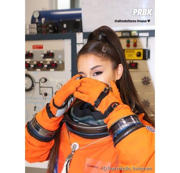 Ariana Grande conhece a NASA e se emociona com experiência