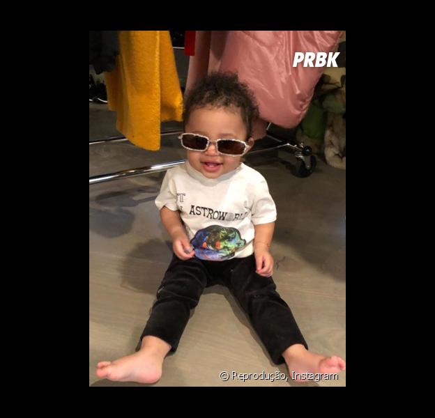 A Stormi, filha da Kylie Jenner, é o bebê mais carismático! Veja provas