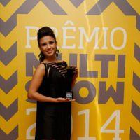 Paula Fernandes rouba a cena no Prêmio Multishow e fala sobre novo CD!