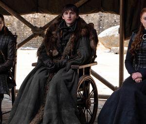 """Game of Thrones"":Arya (Maisie Williams), Bran (Isaac Hempstead-Wright ) e Sansa (Sophie Turner) tiveram finais que dividiram opiniões na série"